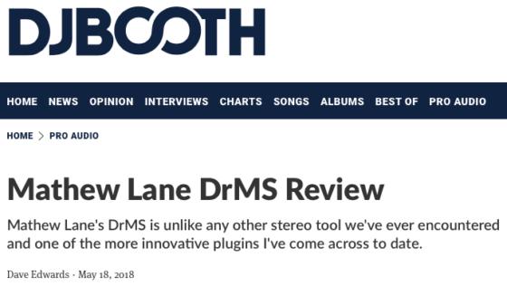 DrMS « Mathew Lane